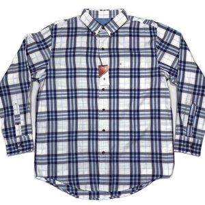 Izod Fieldhouse Twill Button Down Mens Sport Shirt